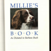 Millie's book : as dictated to Barbara Bush.