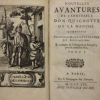 Nouvelles avantures de l'admirable Don Quichotte de la Manche