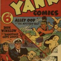Super Yank comics.