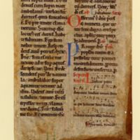 Missal with musical notation