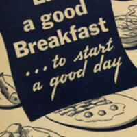 Eat a good breakfast-- : to start a good day / U.S. Department of Agriculture.
