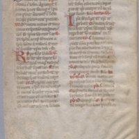 Officium Beate Marie Virginis : [1 leaf]