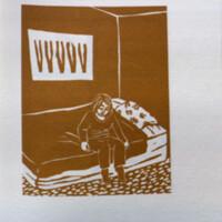 Back + forth : a novel in 90 linocuts / by Marta Chudolinska.