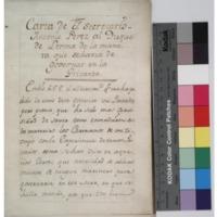 Carta de el secretario Antonio Perez al duque de Lerma de la manera que seharia de governar en la privanza.