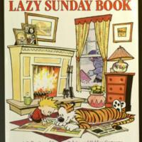 The Calvin and Hobbes lazy Sunday book : a collection of Sunday Calvin and Hobbes cartoons / by Bill Watterson.