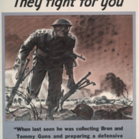 Men of valor [graphic] : they fight for you / Hubert Rogers.