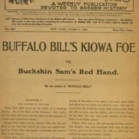 Buffalo Bill's Kiowa foe, or, Buckskin Sam's red hand