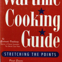 Wartime cooking guide ; stretching the points / by Gertrude Voellmig.
