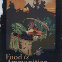 Food is ammunition--don't waste it [graphic] / J. E. Sheridan.