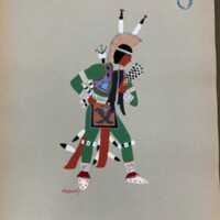 Kiowa Indian art: Watercolor paintings in color by the Indians of Oklahoma