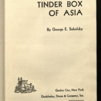 The tinder box of Asia.