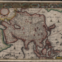 Asia with the Islands adioyning described, the atire [sic] of the people, and Townes of importance