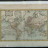 A new & complete Mercator chart of the world.