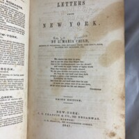Letters from New York / by L. Maria Child.