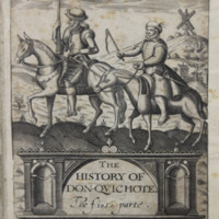 The history of Don-Quichote : the first parte