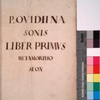 Metamorphoses. Italian & Latin