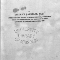 Poverty and social progress / by Maurice Parmelee.<br />