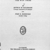 Mongrel Virginians ; the Win tribe / by Arthur H. Estabrook ... and Ivan E. McDougle.<br />