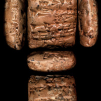 [Cuneiform tablet]. [Messenger text].