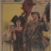 Marne, Yser, Somme, Verdun [graphic] : l'aurore / Henri Royer.