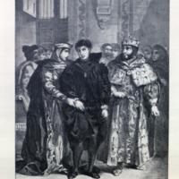 Hamlet Prinz von Daenemark / [Textrevision von Max J. Wolff] ; Mit 16 Lichtdrucktafeln nach den Lithographieen von Eugene Delacroix.<br />