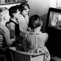 Children Watching Andy Pandy