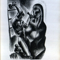 Prelude to a million years : a book of wood engravings / by Lynd Ward.<br />