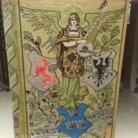 Tres poesías : El ángel de la muerte, Canción de la campana, Epístola moral / de O. Wallin, F. Schiller, F. de Andrada ; traducciones de D. J.E. Hartzembusch [sic] y D.J. Yxart ; dibujos de Carlos Larsson [and others].