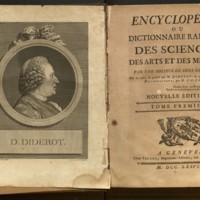 Encyclopédie : ou, Dictionnaire raisonné des sciences, des arts et des métiers / par une société de gens de lettres ; mis en ordre & publié par M. Diderot ... & quant à la partie mathématique, par M. d'Alembert.
