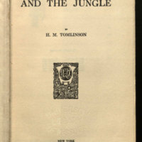 The sea and the jungle / by H.M. Tomlinson.