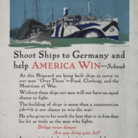 Shoot ships to Germany and help America win - Schwab [graphic] / Adolph Treidler