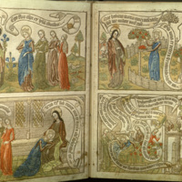 Canticum canticorum : Societatis in honorem Marées pictoris conditae opus tricesimum quartum : editio archetypum anni circiter millesimi quadringentesimi sexagesimi quinti imitans.