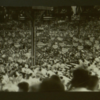 Photograph of Democratic National Convention in Houston TX.