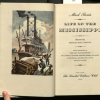 Life on the Mississippi / Mark Twain ; illustrated by Thomas Hart Benton, with an introduction by Edward Wagenknecht and a number of previously suppressed passages, now printed for the first time, and edited with a note by Willis Wager.