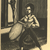 Madman's drum / a novel in woodcuts / by Lynd Ward.<br />