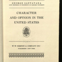 Character and opinion in the United States.