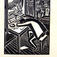 Die Sonne : 63 Holzschnitte / von Frans Masereel ; Einleitung von Carl Georg Heise.<br />