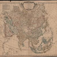 Carte de L'Asie dressée sur les Relations les plus nouvelles