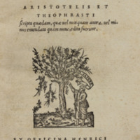 Ek tōn Aristotelous kai Theophrastou = Aristotelis et Theophrasti scripta quaedam