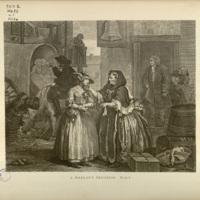 The works of William Hogarth.