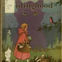 "Little red ridinghood : with ""pop-up"" illustrations in color / by Harold Lentz."
