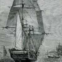 "What Mr. Darwin saw in his voyage round the world in the ship ""Beagle""."