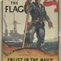 Follow the flag : enlist in the Navy / J. Daugherty ; composition, H.R.