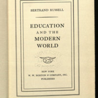 Education and the modern world.