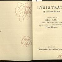 Lysistrata. English