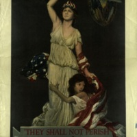 """They shall not perish"" [graphic] : campaign for $30,000,000 : American Committee for Relief in the Near East : Armenia, Greece, Syria, Persia / Douglas Volk."