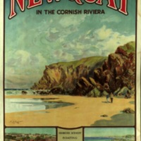 Newquay in the Cornish Riviera / L.H. Coller.