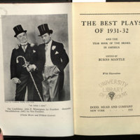 The Best plays of ... and the year book of the drama in America.