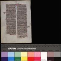 Bible. Ezekiel. Latin. Vulgate. 1250.<br />