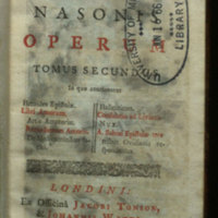 Opera, tribus tomis comprehensa / [Michael Maittaire edidit]